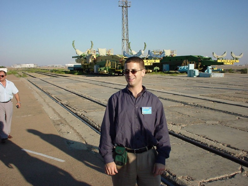 Kazakhstan, November 1998 Product Launch: The International Space Station's First Module (Yep, I was that nerdy. I wore a belt pouch for a camera with no modem.)
