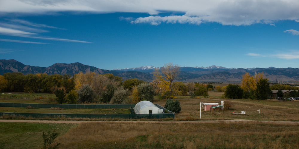 The Growing Kitchen's farm in Boulder, Colorado.