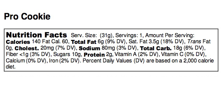 Pro Cookie - Nutrition Label - Medical Choc Chip - no ingredients.jpg