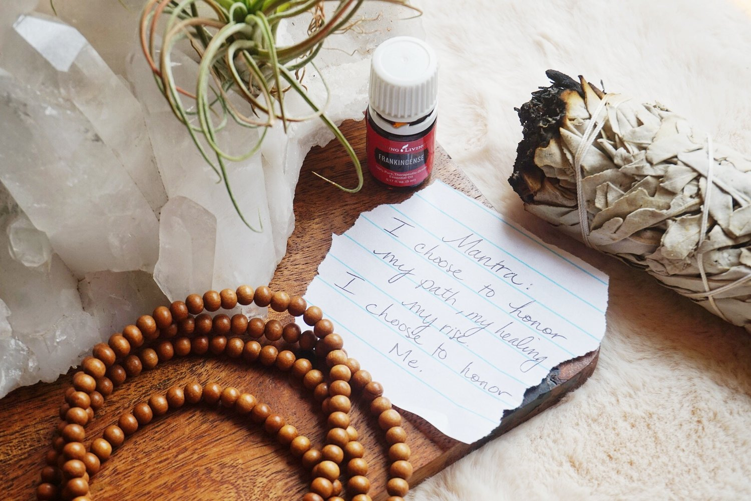 Oils, Malas, & Mantras: Creating a Sacred Space for Self Devotion