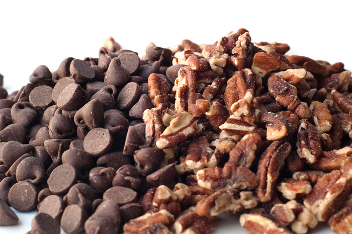 Chocolate Chips and Pecans