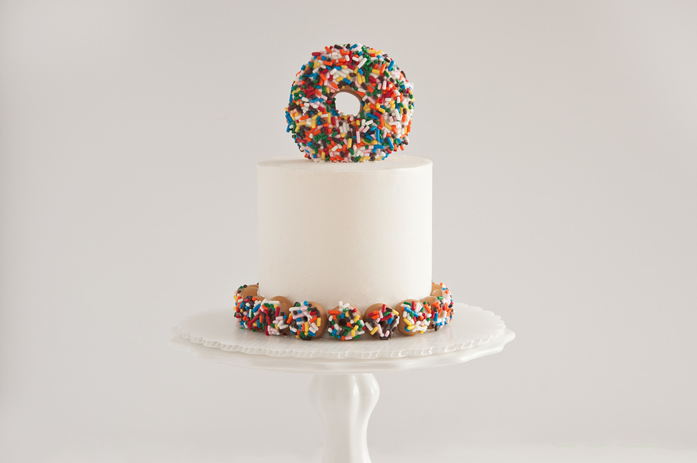 Sprinkles For Breakfast Doughnut Cake