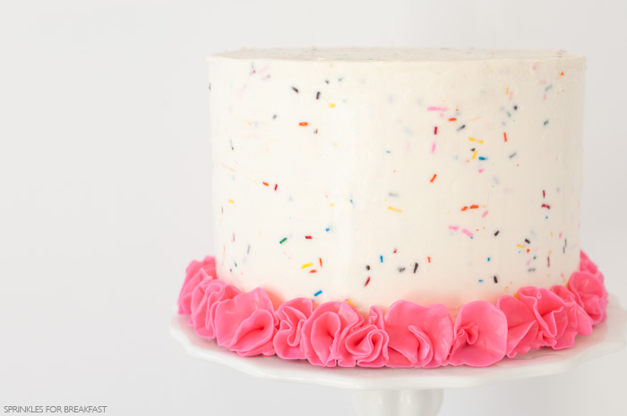 SPRINKLE CELEBRATION CAKE