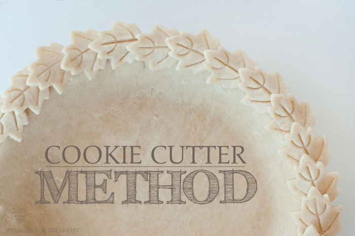 Cookie Cutter Method