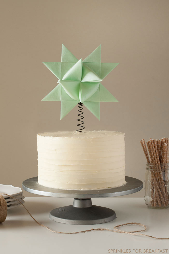 Tree Topper Cake