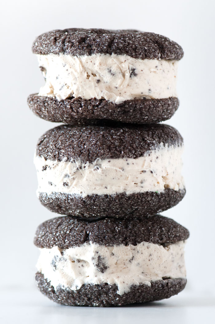 Sprinkles for Breakfast | Cookies and Cream Ice Cream Sandwich