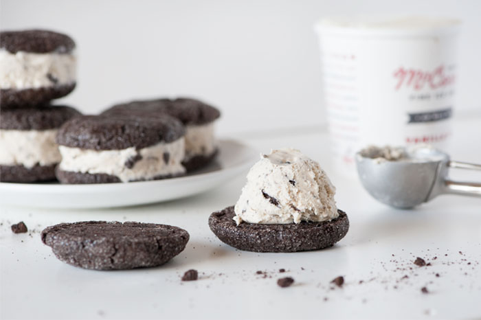 Sprinkles for Breakfast | Cookies and Cream Ice Cream Sandwiches