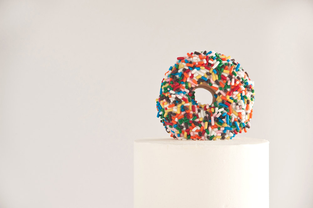Sprinkles for Breakfast | Doughnut Cake