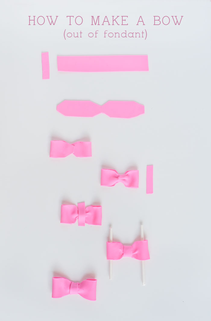 Fondant Bow Tutorial | Sprinkles for Breakfast