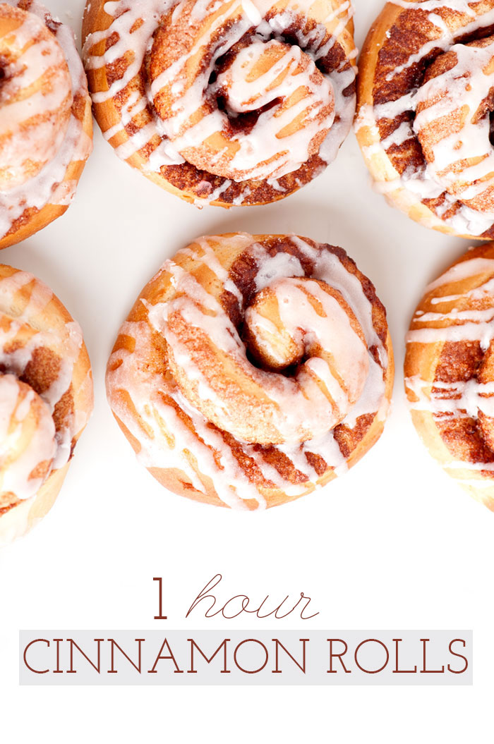1 hour Cinnamon Rolls | Sprinkles for Breakfast