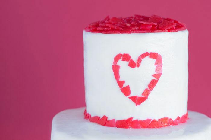SUGAR SHARD CAKE