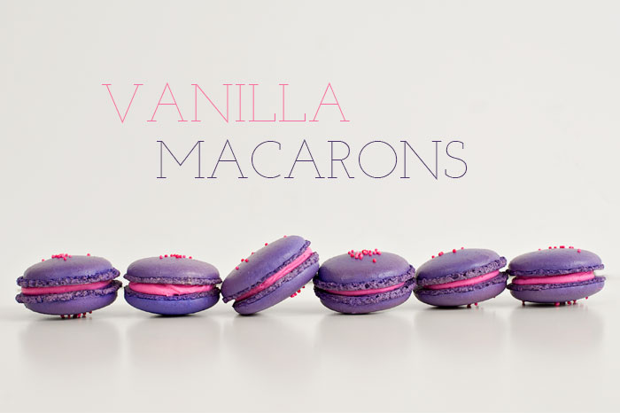 Vanilla Macarons | Sprinkles for Breakfast