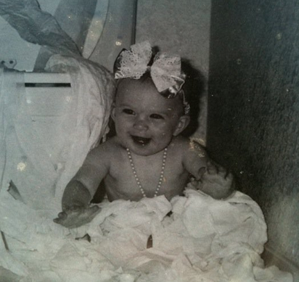 Baby in a Bow