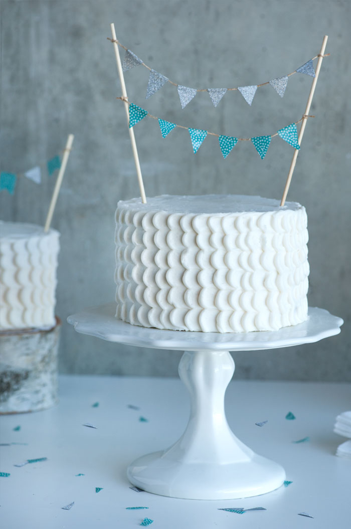 Bunting Cake | Sprinkles for Breakfast