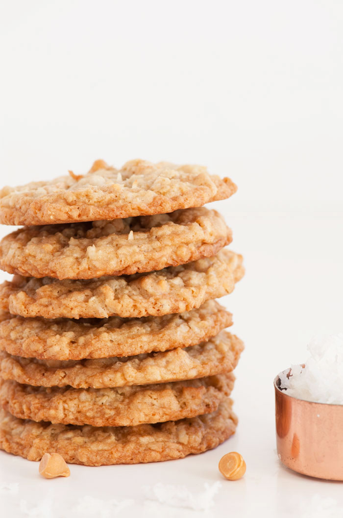 Coconut Butterscotch Cookies | Sprinkles for Breakfast