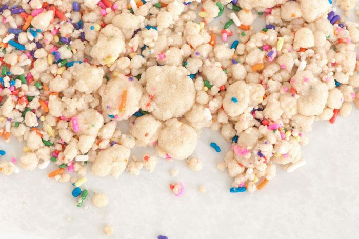 Birthday Crumble | Sprinkles for Breakfast