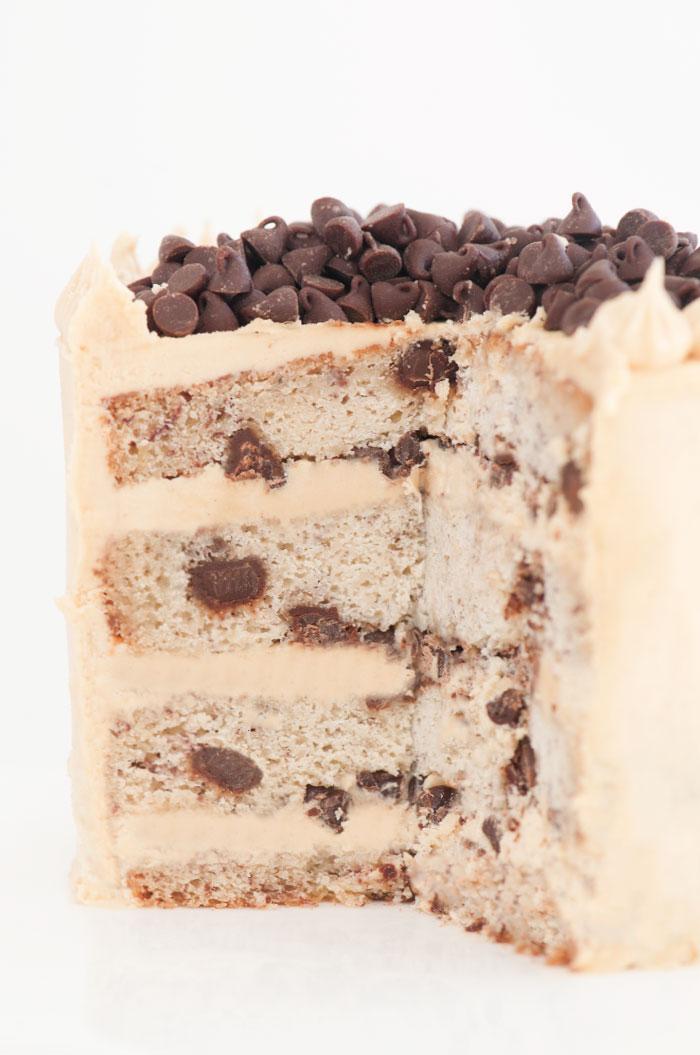 Banana Chocolate Chip Peanut Butter Cake | Sprinkles for Breakfast