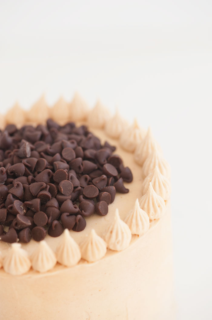 Banana Chocolate Chip Peanut Butter Cake | Sprinkles for Breakfast