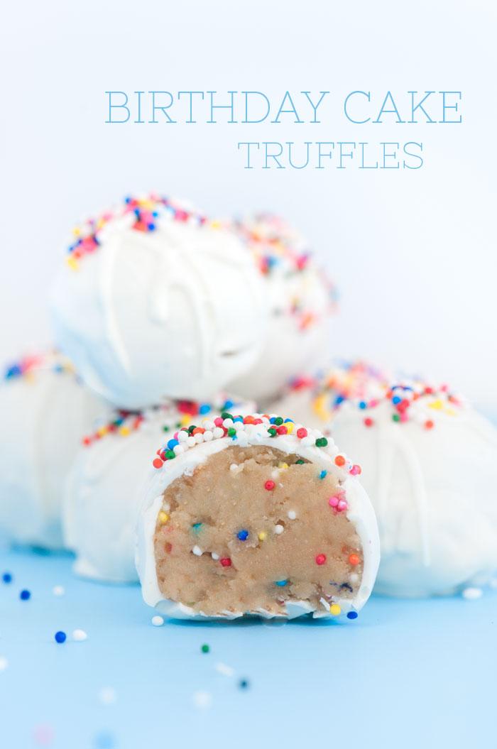 Birthday Cake Truffles | Sprinkles for Breakfast