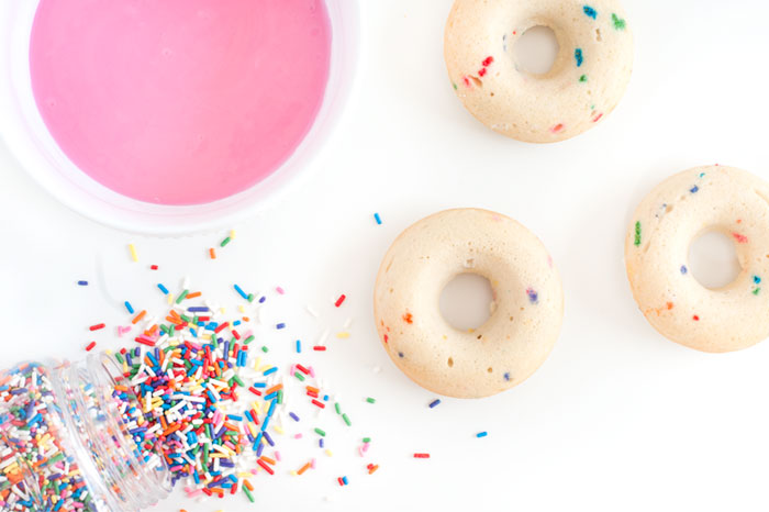 Birthday Cake Doughnuts | Sprinkles for Breakfast