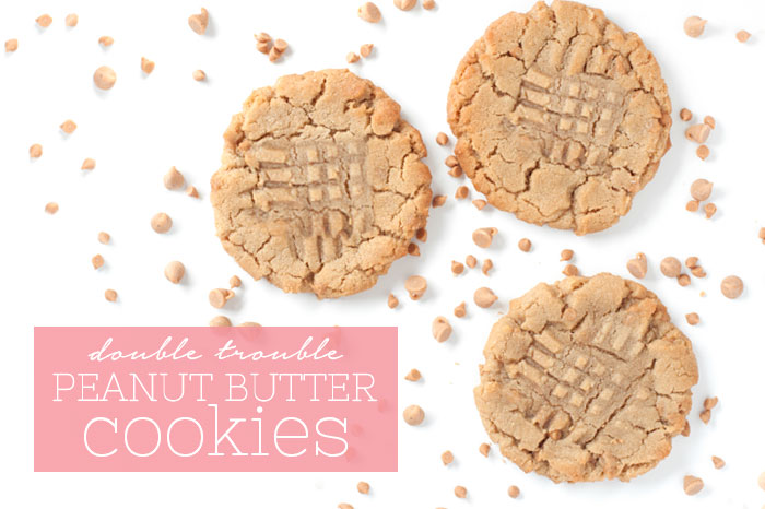 Double Peanut Butter Cookies | Sprinkles for Breakfast