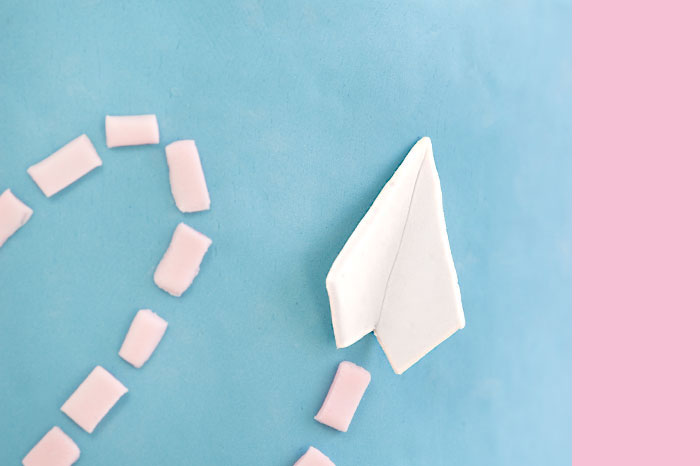 Two Paper Airplanes | Sprinkles for Breakfast