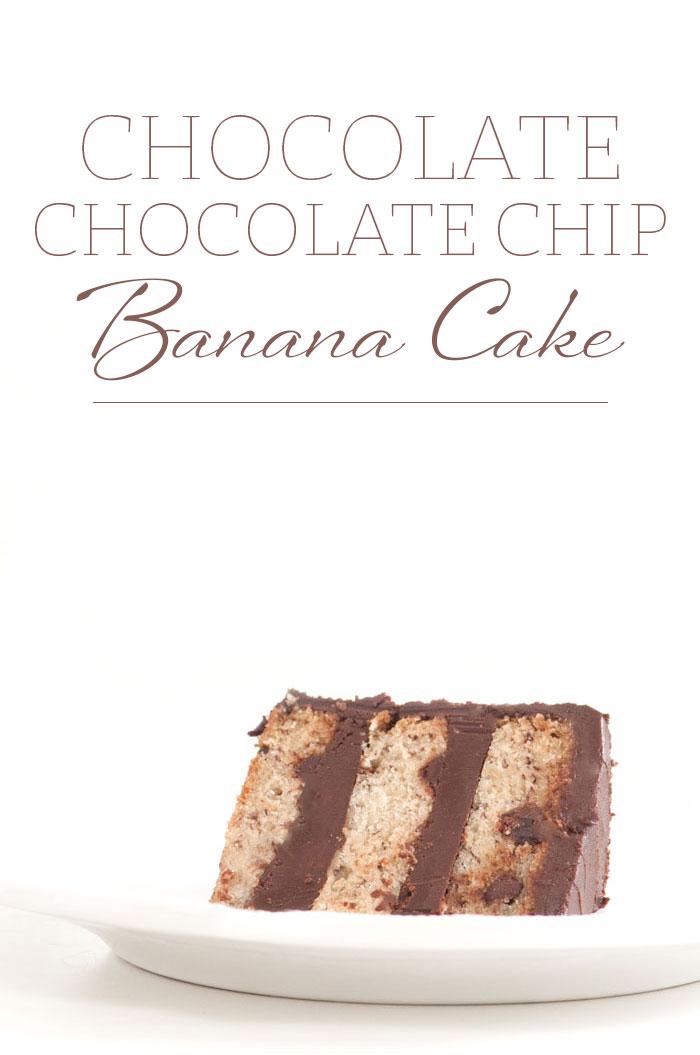 Chocolate Chocolate Chip Banana Cake | Sprinkles for Breakfast
