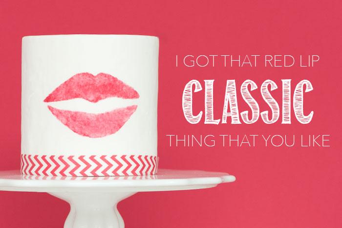 Red Lip Classic | Sprinkles for Breakfast