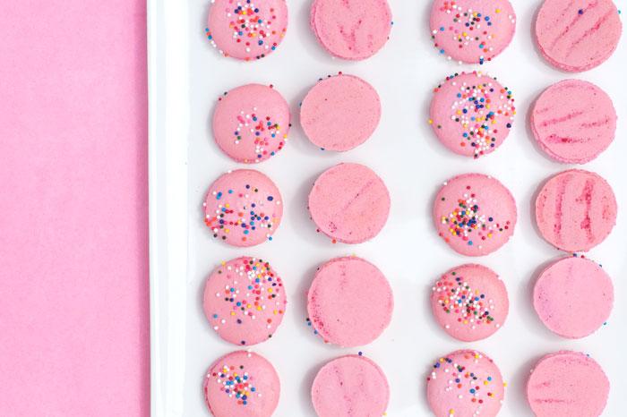 Birthday Cake Macarons | Sprinkles for Breakfast