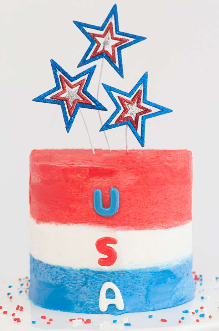 USA Cake | Sprinkles for Breakfast