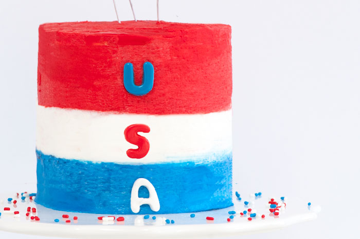 USA Cake | Sprinkles for Breakfast