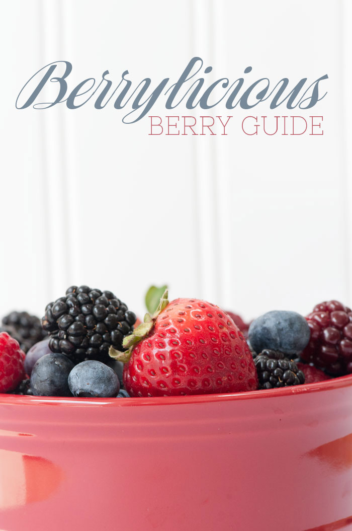 Berrylicious Berry Guide | Sprinkles for Breakfast