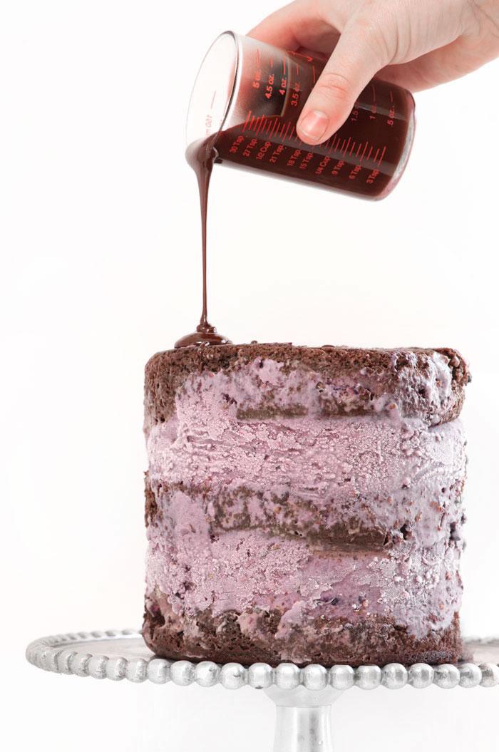 Blackberry Blackout Ice Cream Cake   Sprinkles for Breakfast