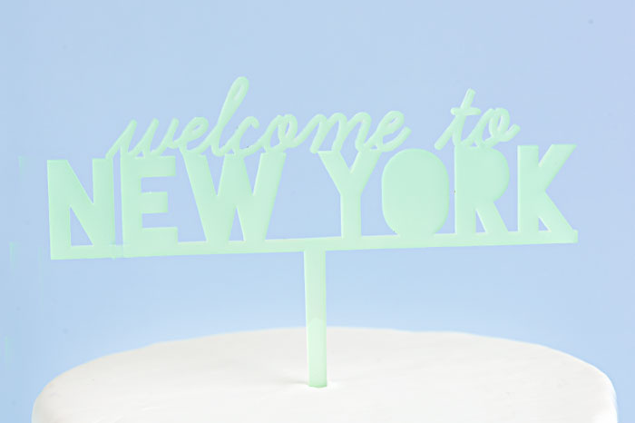 Welcome to New York Cake Inspired By Taylor Swift | Sprinkles for Breakfast