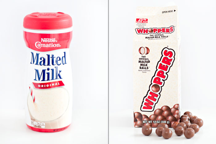 Chocolate Malt Ball Ice Cream Sandwiches | Sprinkles for Breakfast