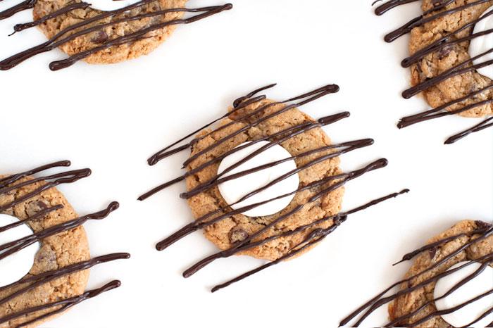 S'mores Cookies |Sprinkles for Breakfast