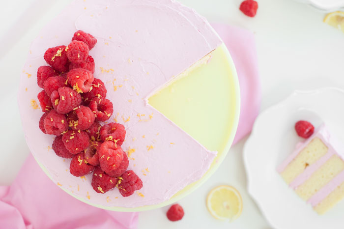 Lemon Cake with Raspberry Meringue | Sprinkles for Breakfast