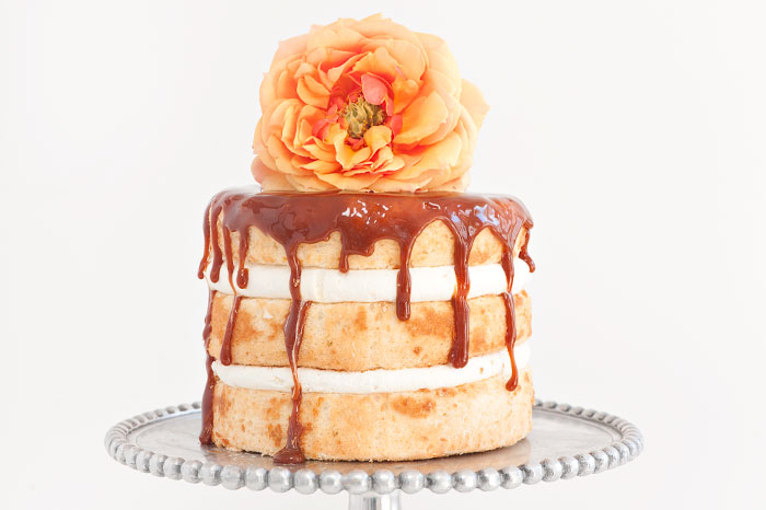 Vanilla Caramel Drip Cake | Sprinkles for Breakfast
