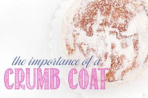 Importance of a crumb coat