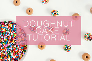 Doughnut cake tutorial