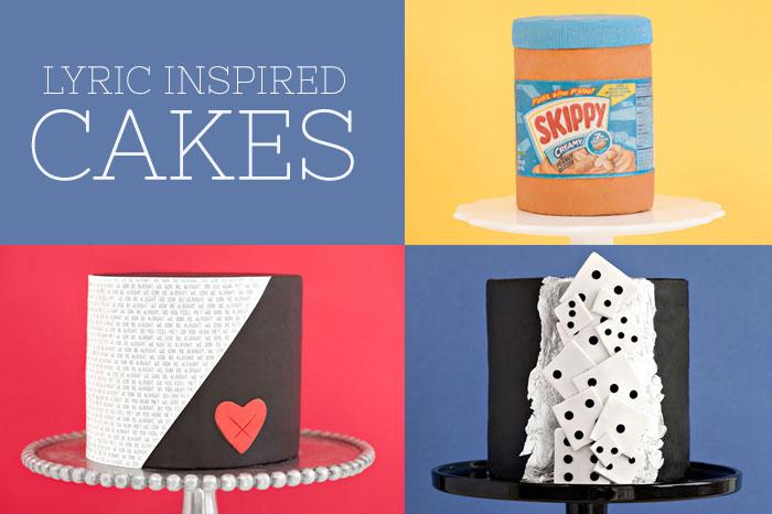 Lyric Inspired Cakes | Sprinkles for Breakfast
