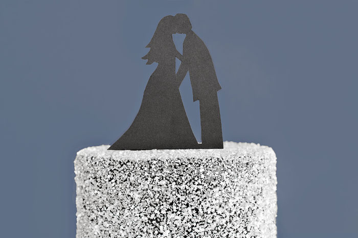 Kissing under a thousand Stars Cake