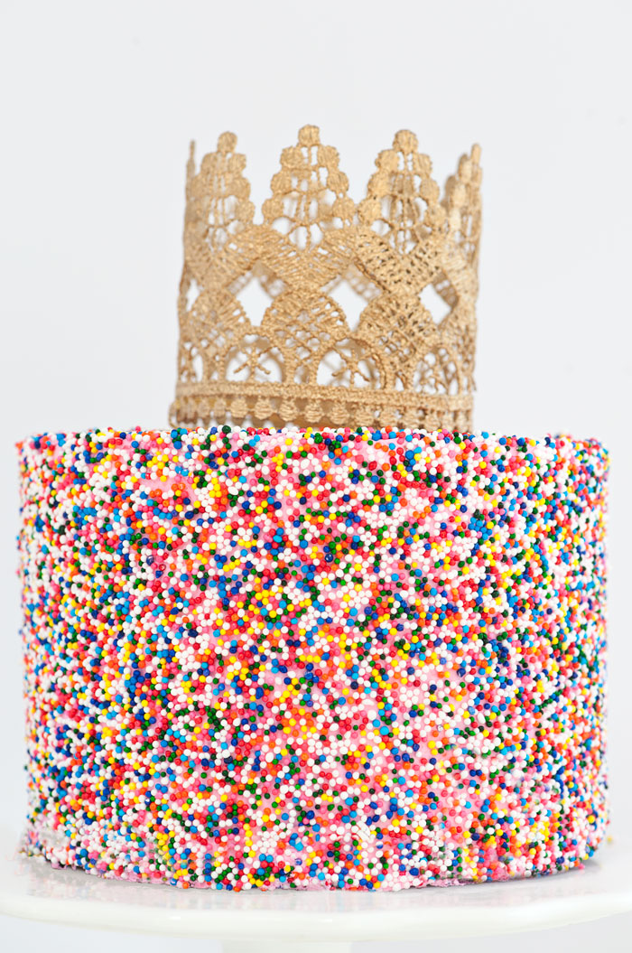 Sprinkle Queen Cake | Sprinkles for Breakfast