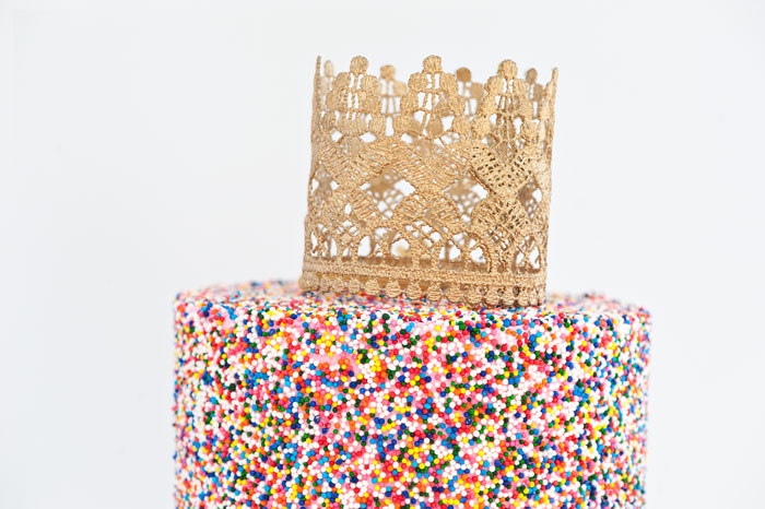 Sprinkle Queen Cake