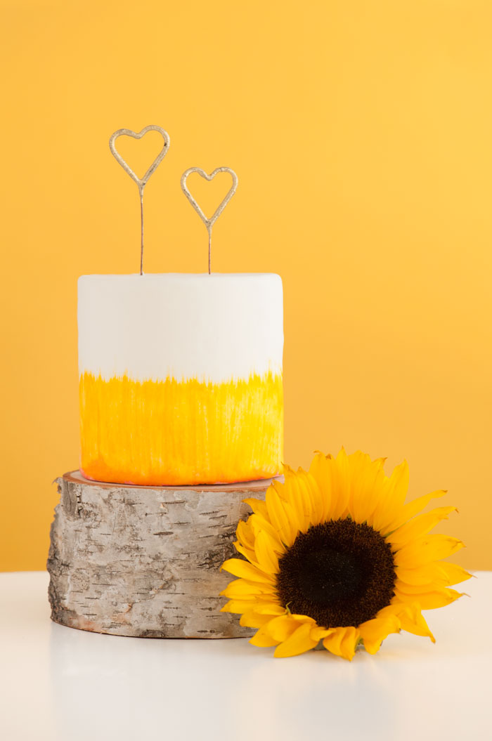 Sunflower Cake | Sprinkles for Breakfast