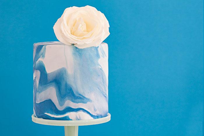 Blue Marble Cake | Sprinkles for Breakfast