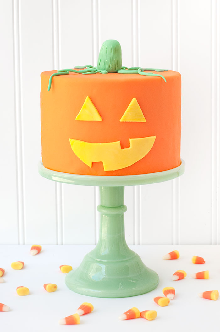Jack - O - Lantern Cake | Sprinkles for Breakfast