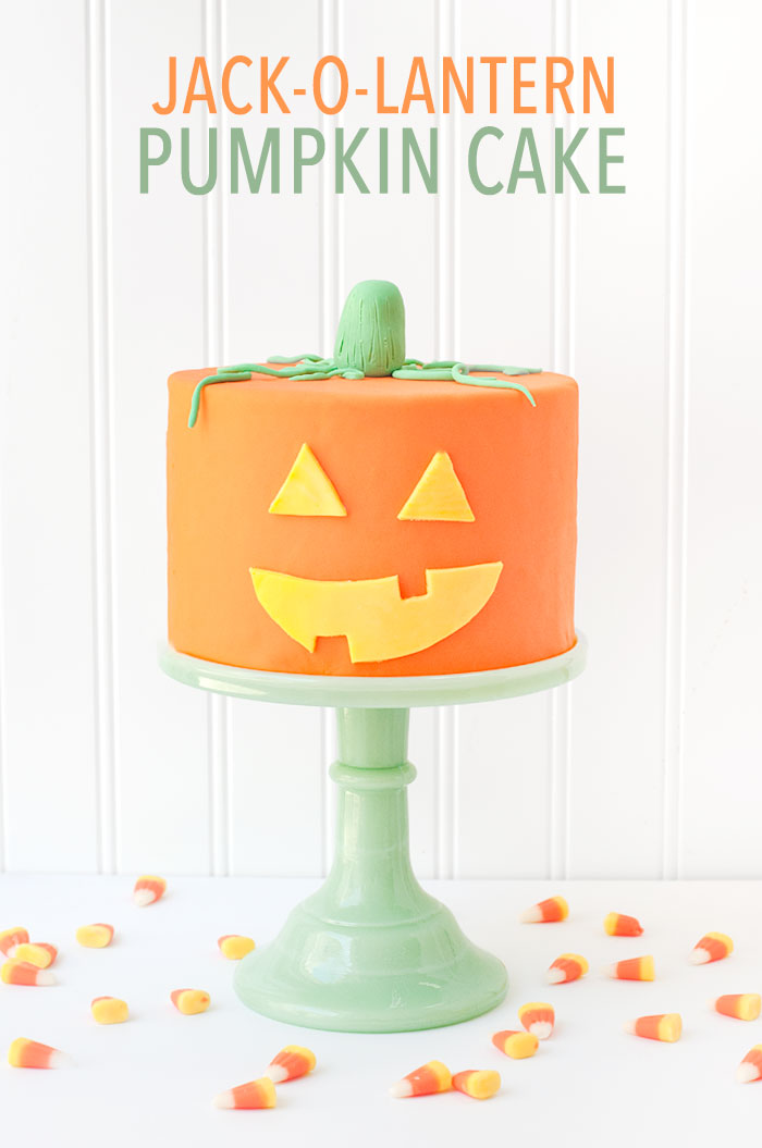 Jack-O-Lantern Pumpkin Cake | Sprinkles for Breakfast