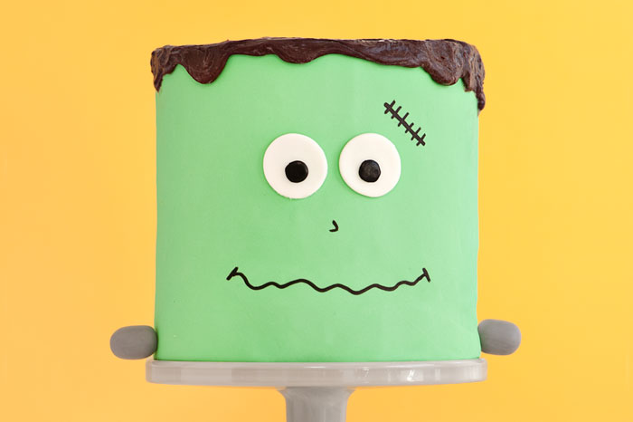 Frank The friendly Monster cake