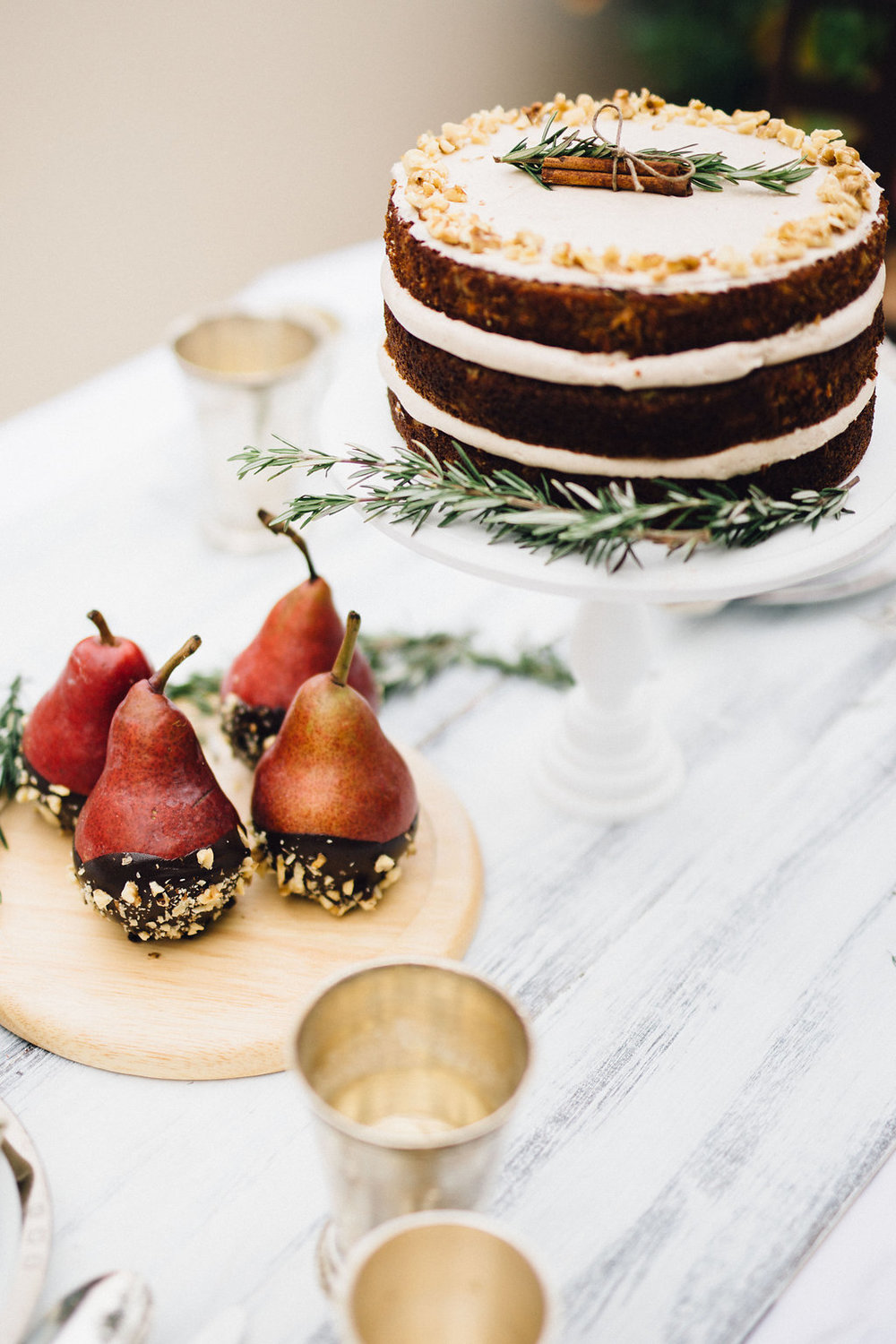 Winter Table Setting | Just West + Sprinkles for Breakfast